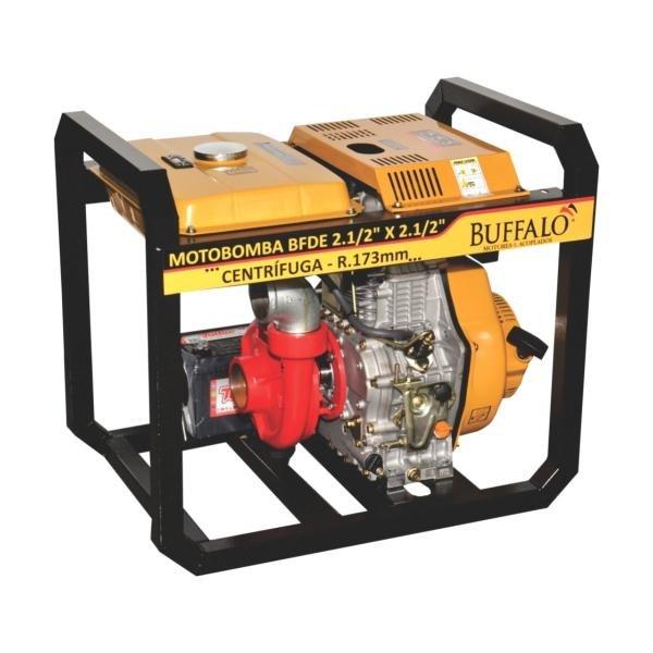 Motobomba Buffalo BFDE Incendio 2.1/2x2.1/2 Centrifuga / Quadro reforçado (M. 13.0cv) Part. Elétrica 71210 (a Diesel)