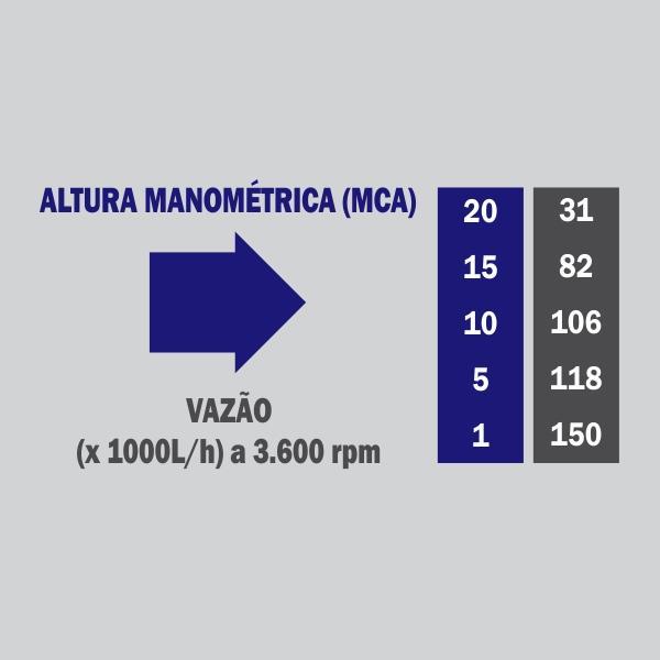 Motobomba Buffalo BFG 6 Auto Escorvante / Quadro Reforçado (m 15cv) Part. Manual 61510 (a Gasolina)