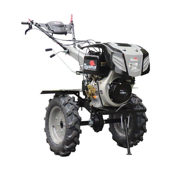 Motocultivador a Diesel TDT135RE12-XP enxada 80 a 135cm  c/ Luz -11hp, p.eletr.
