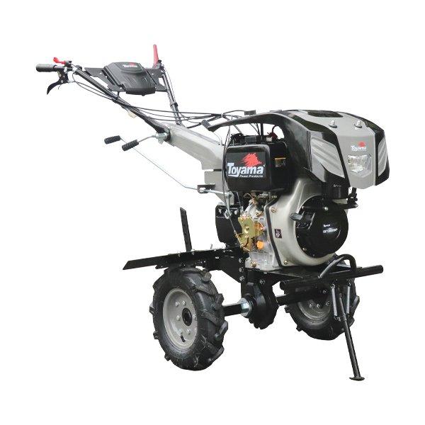 Motocultivador a Diesel TDT135RE8-XP 11HP  enxada 80/135cm, Luz,  part.eletr, ro