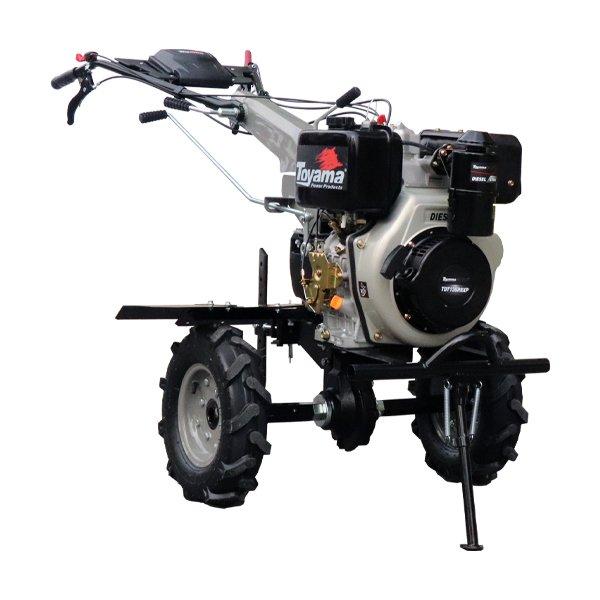 Motocultivador Diesel TDT135R-XP, enxada 80 a 135cm, motor 11hp part. manual -ac