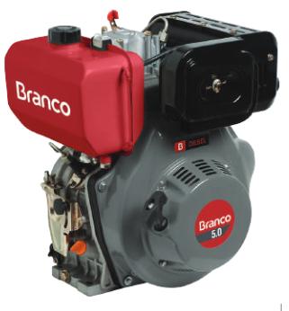 Motor Branco BD 5.0 Part. Elétrica 90311701 (a Diesel)