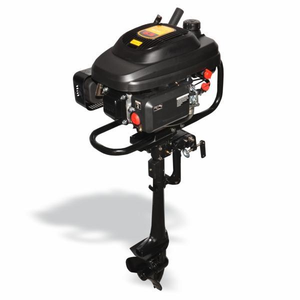 Motor de Popa Buffalo BFG 6.5cv c/ Rabeta (196 Cilindrada) Part. Manual 60655 (a Gasolina)