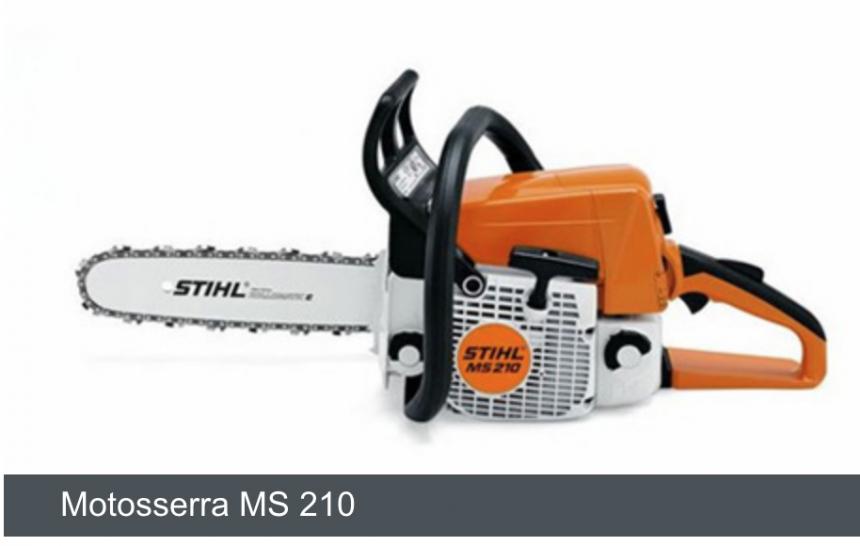 MS 210 Motosserra,35cm/14