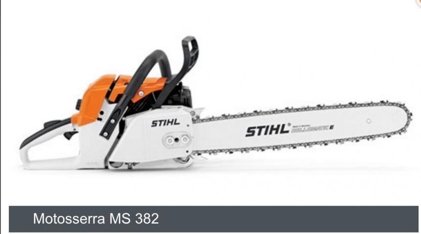 MS 382 Motosserra,40cm/16