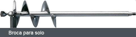 Perfurador de solo/madeira Stihl BT 45 (Com Broca)