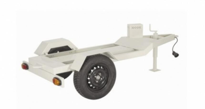 Reboque para triturador de resíduos TR-600