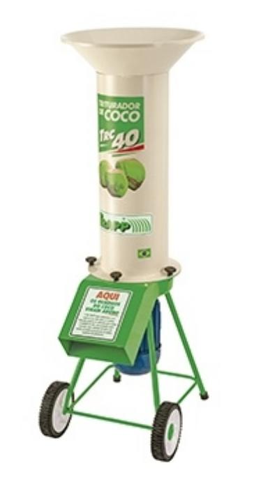 Triturador de Coco Trapp TRC-40 5CV 60HZ TRIF.220/380/440V