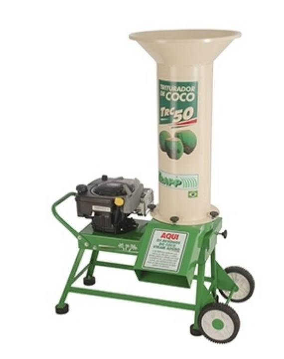 Triturador de Coco Trapp TRC-50G C/MOT.8,5HP BRIGGS