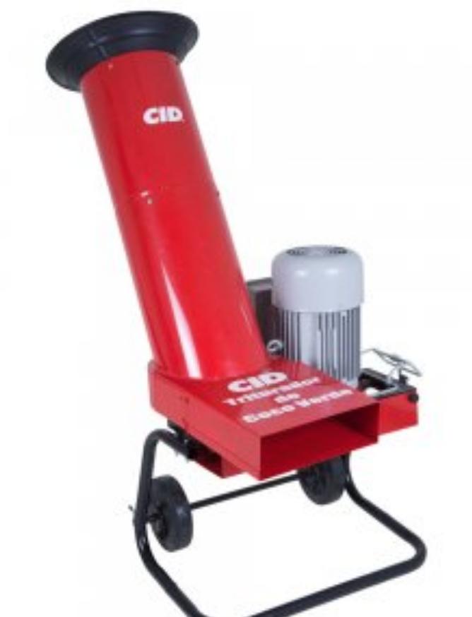 Triturador de Coco Verde 5HP - Eletrico 220v Mono