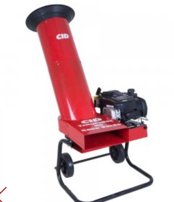Triturador de Coco Verde CID - Gasolina 4TP - 6.25hp