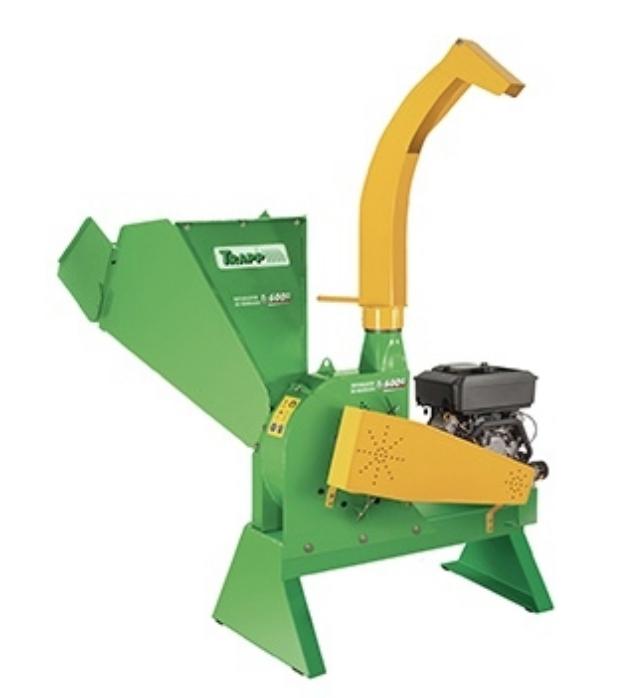 Triturador de Galhos e Resíduos Trapp TR-600G C/MOT.GAS.16HP