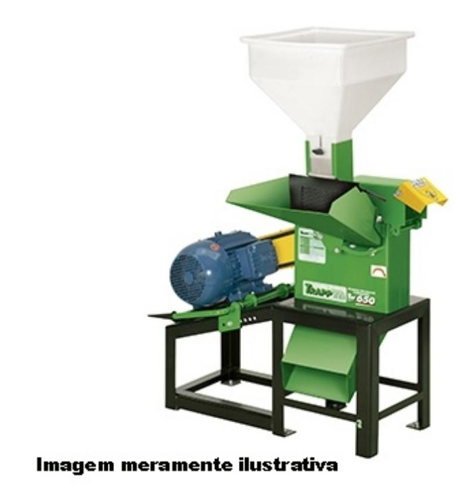 Triturador Forrageiro Trapp TRF-650 7,55CV 60HZ TRIF.380/660V