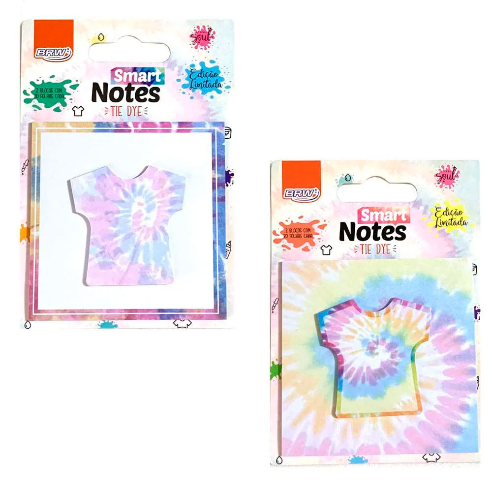 Bloco Smart Notes Tie Dye 40 fls