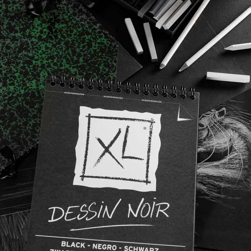 Bloco Xl Dessin Noir 150g A5 20fls Canson