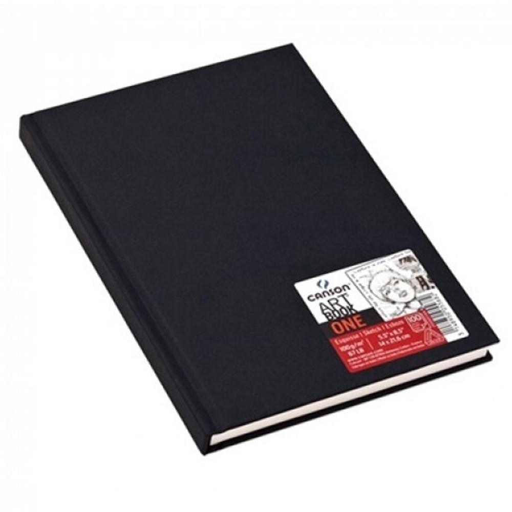 Caderneta artbook one estilo 100g A5 98fls canson