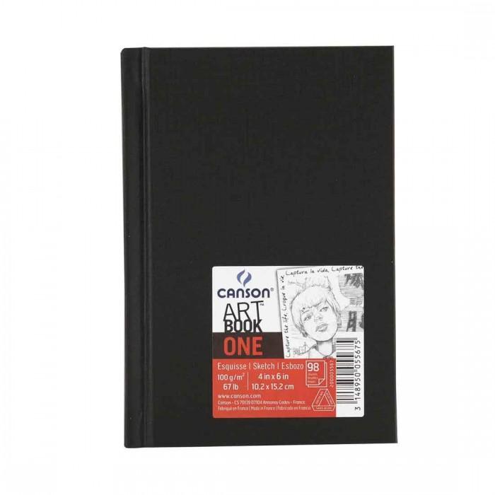 Caderneta artbook one estilo 100g A6 98fls canson