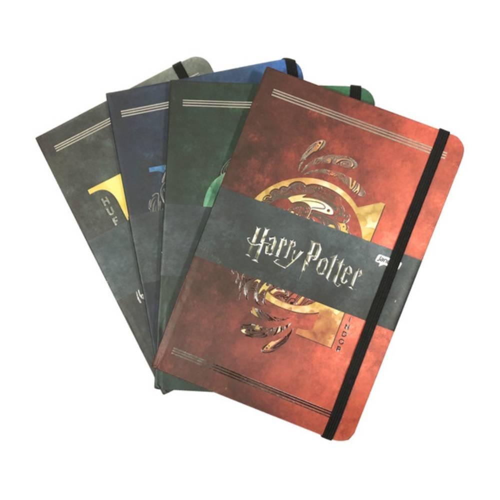 Caderneta Grande Harry Potter - Casas de Hogwarts