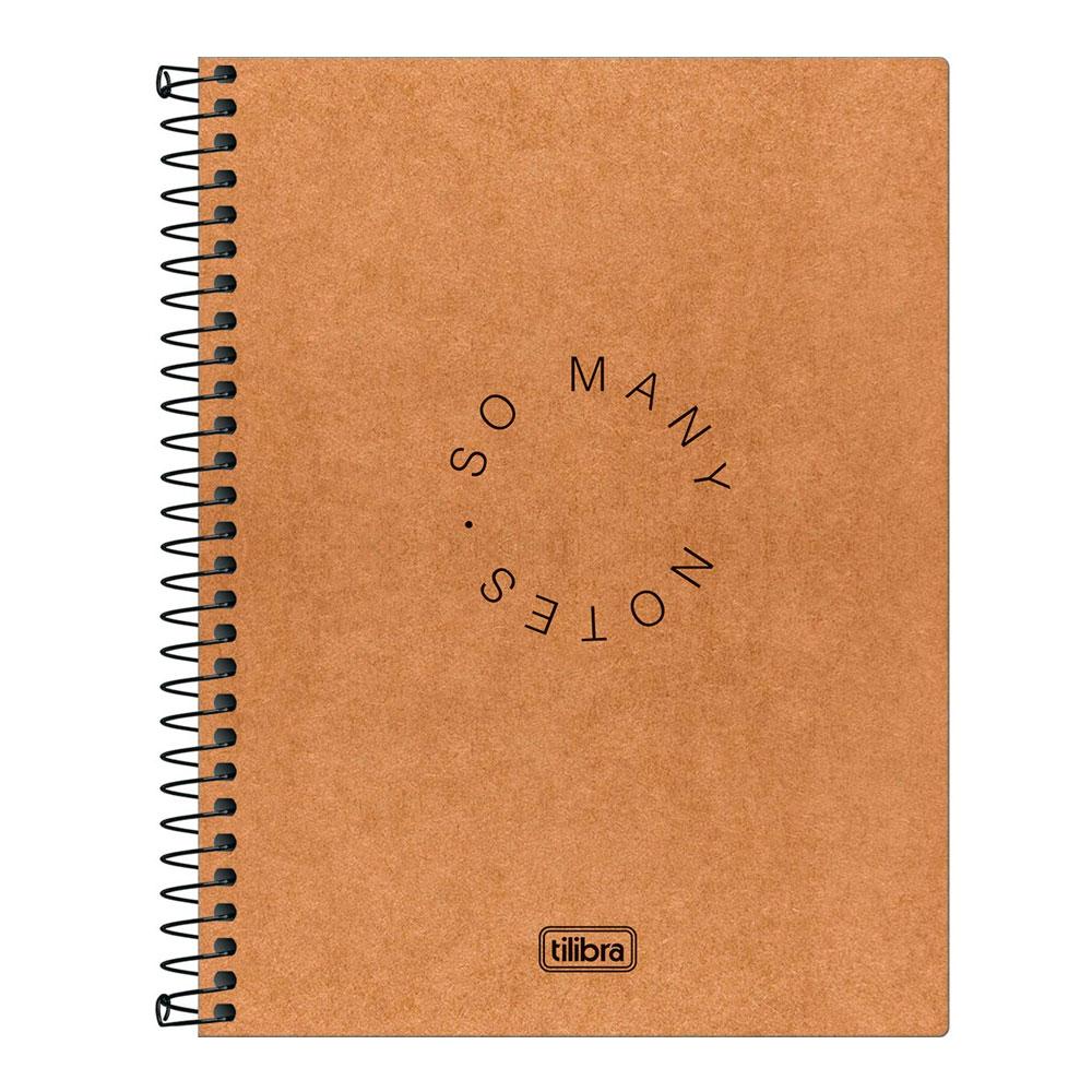 Caderno Colegial Kraftwork 1 Matéria 80fls