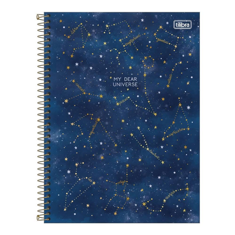 Caderno Universitário Magic 1 Matéria 80f  Tilibra - My Dear Universe