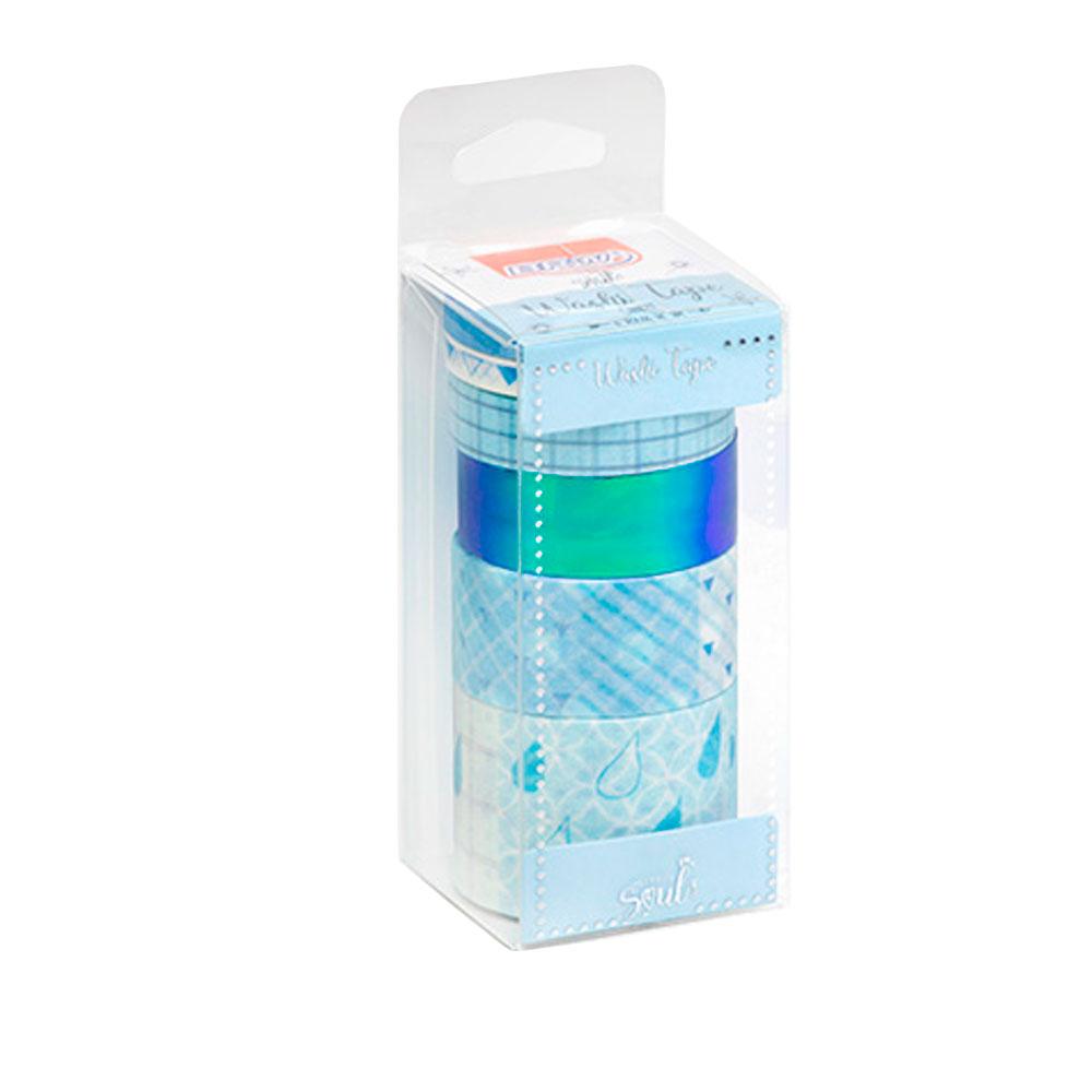 Conjunto de Fitas Washi Tape Candy c/ 6