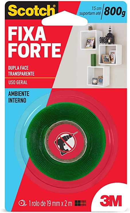 Fita Fixa Forte 19x2m 3m