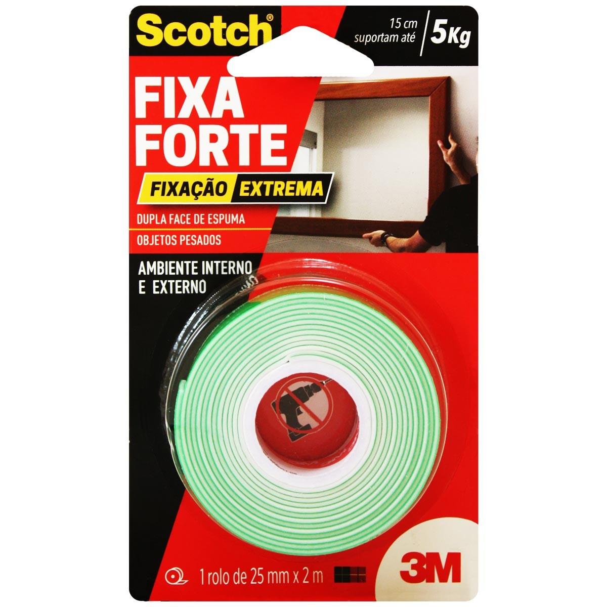 Fita Fixa Forte Extreme 24x2m 3m