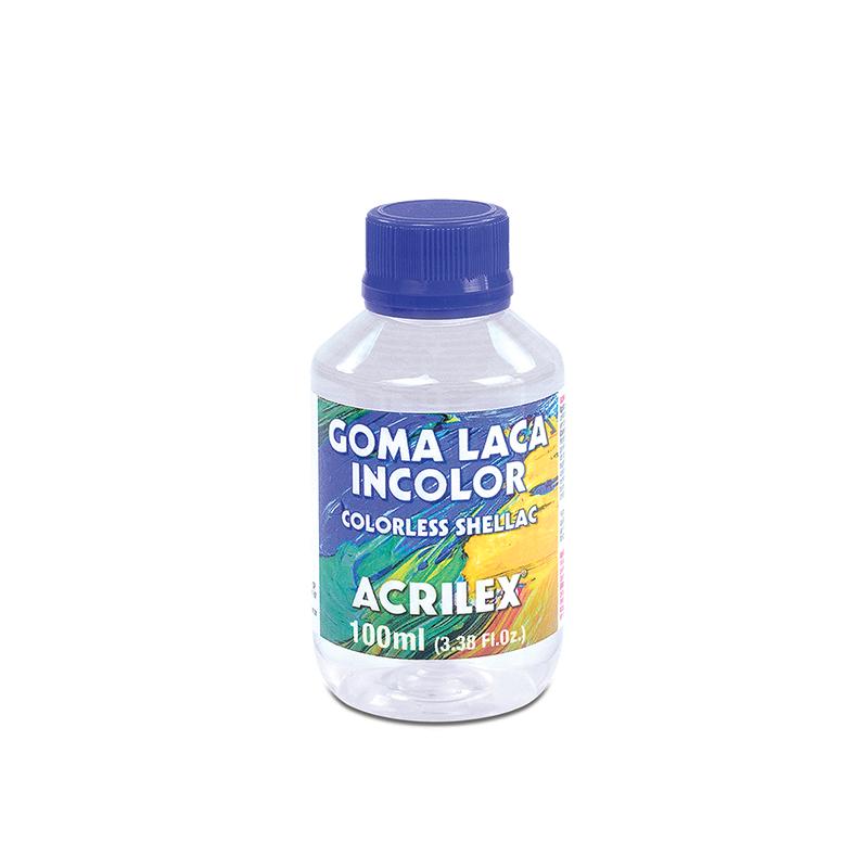 Goma Laca Incolor 100ml Acrilex
