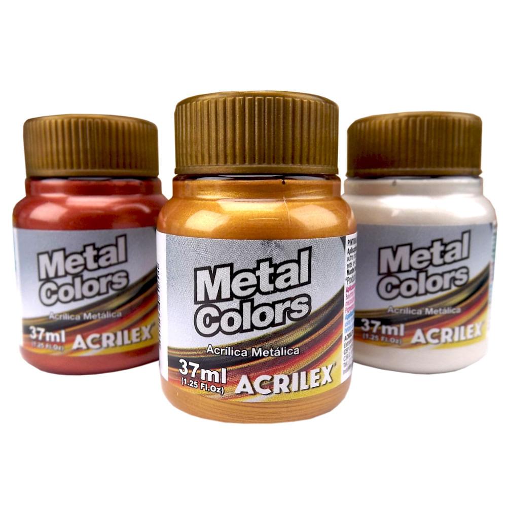 Metal Colors Acrylic 37ml Acrilex