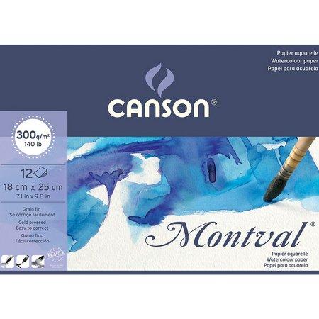 Montval Textura Fina 12fls 18x25 300g Canson