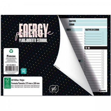 Planejamento Semanal Mesa Energy Positive Yet Foroni