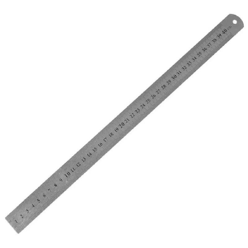 Régua em Aço Inoxidável Sinoart 40cm