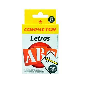 Stencil Para Cartazes E Artesanato Letreiro Abc 35mm Compactor