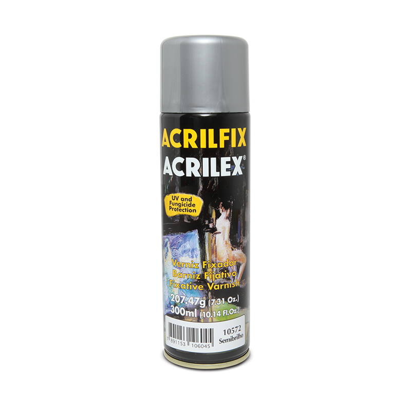 Verniz Acrilfix Semi Brilhante 300ml Acrilex