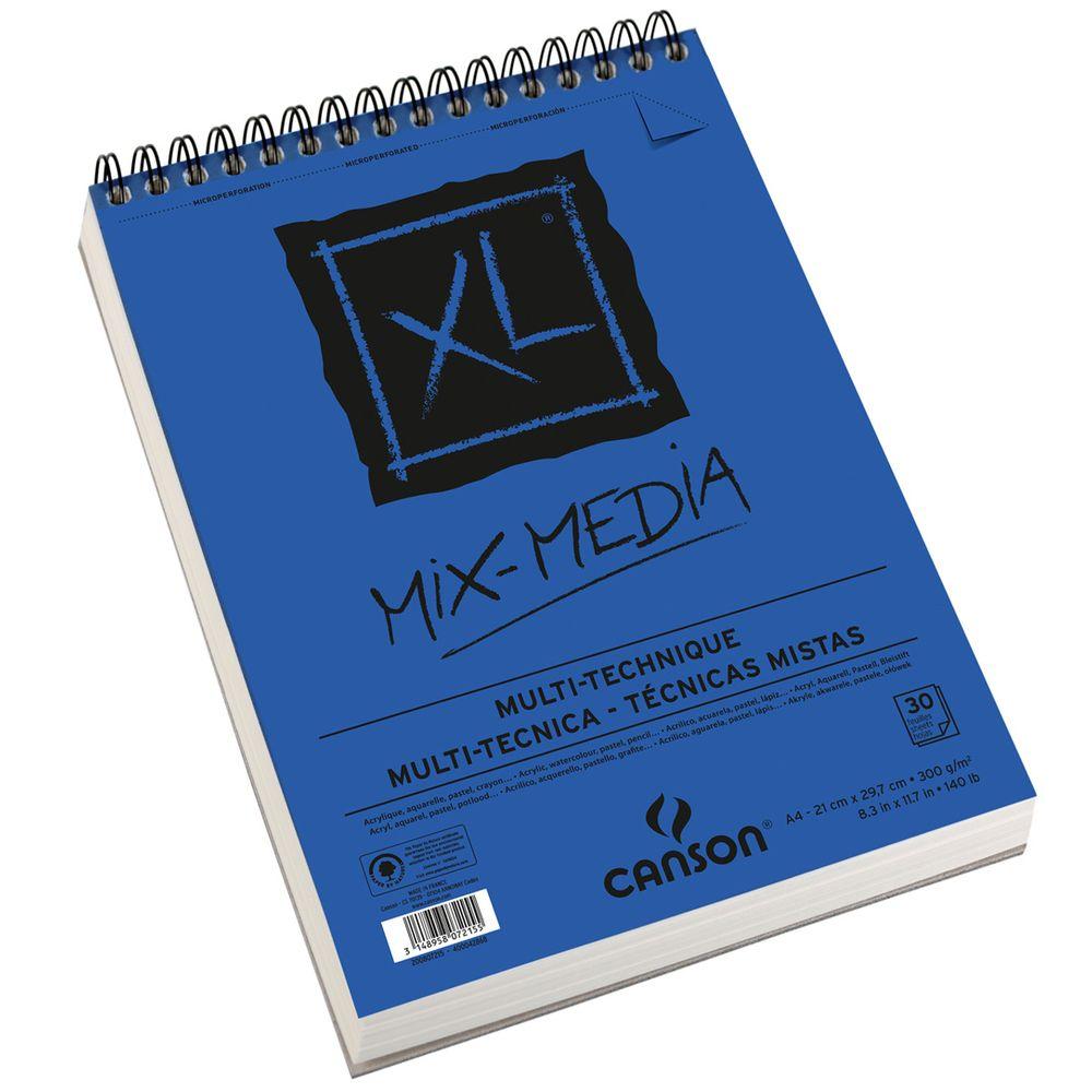Xl Mix Media 30fls A4 300gm2 Canson