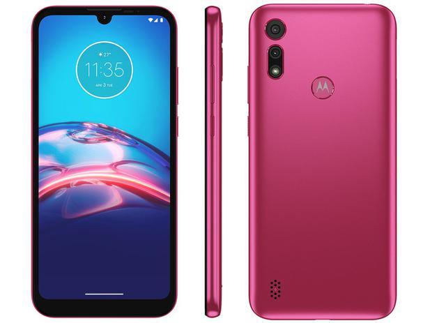 Smartphone Motorola Moto E6I 32GB Pink 2GB Ram