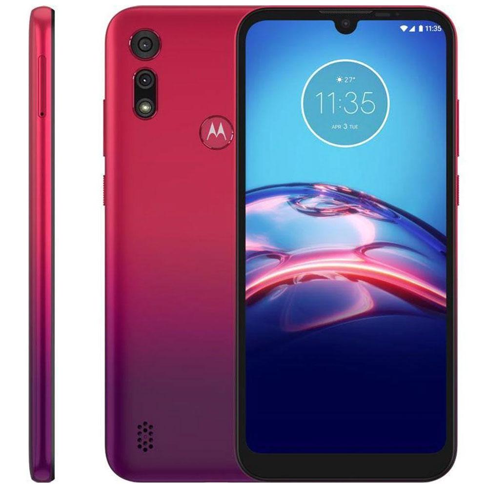 Smartphone Motorola Moto E6s 64GB Vermelho Magenta 4GB Ram