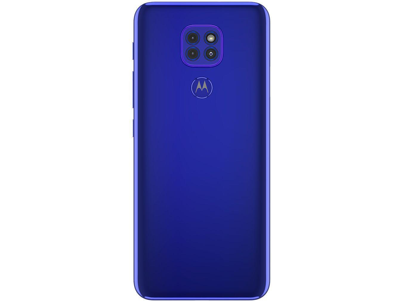 Smartphone Motorola Moto G9 PLAY 64GB Azul Safira 4GB Ram
