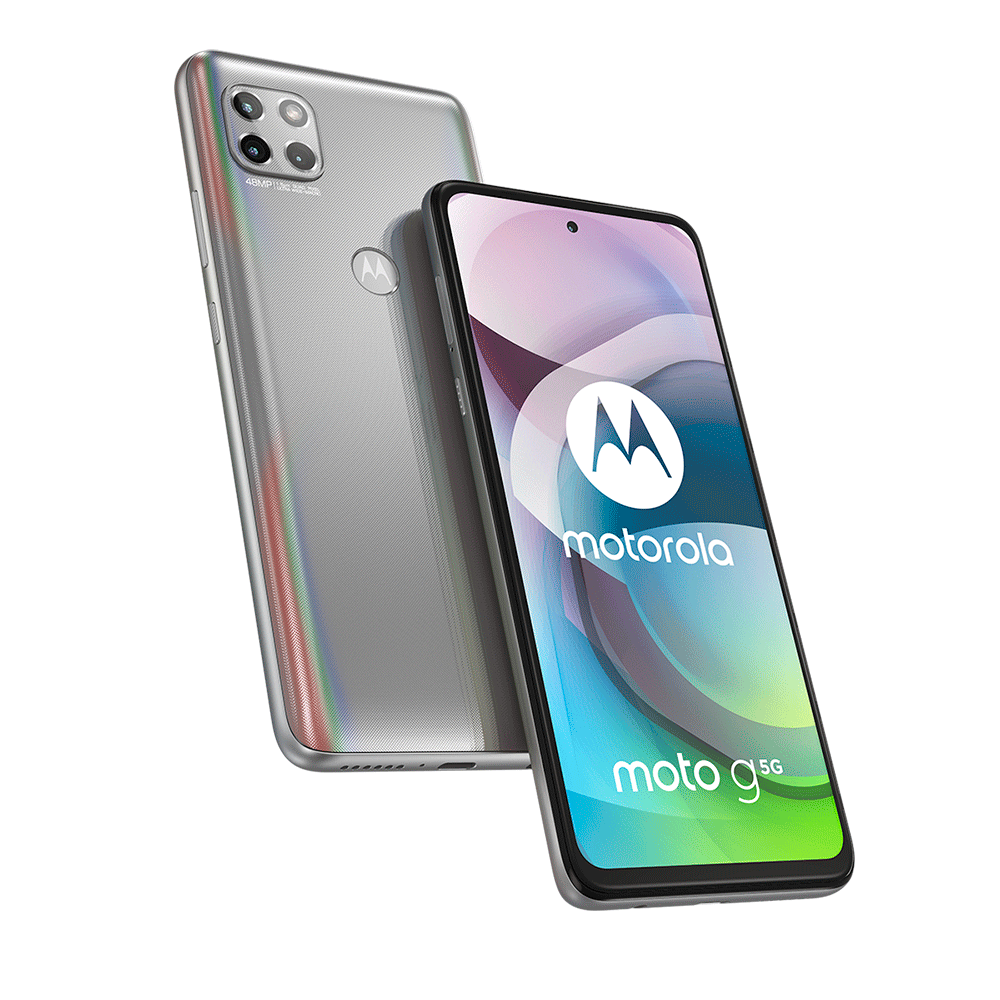 Smartphone Motorola Moto G 5G 128GB Prata Prisma 6GB Ram