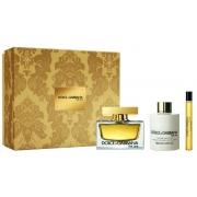 Kit Dolce & Gabbana The One Eau de Parfum Feminino 75ml + BL 100ml + Mini 10ml