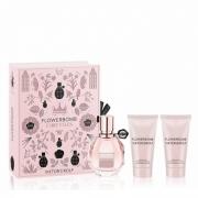 Kit Flowerbomb Viktor&Rolf Eau de Parfum Feminino 50ml + BL 50ml + SG 50ml