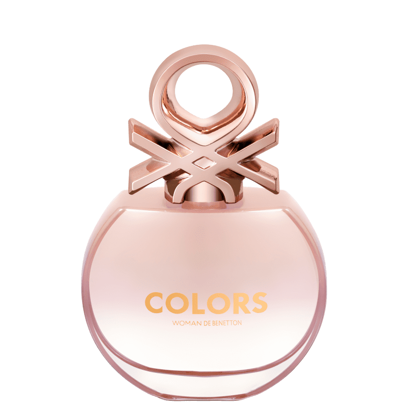 Benetton Colors Woman Rose Eau de Toilette Feminino