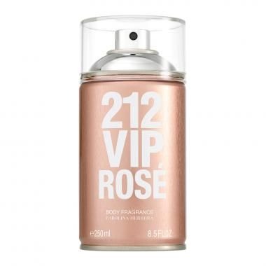 Carolina Herrera 212 VIP Rosé Body Spray Feminino 250ml