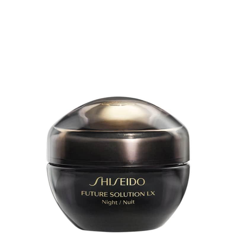 Creme Anti-Idade Noturno Shiseido Future Solution LX Total Regenerating 50ml