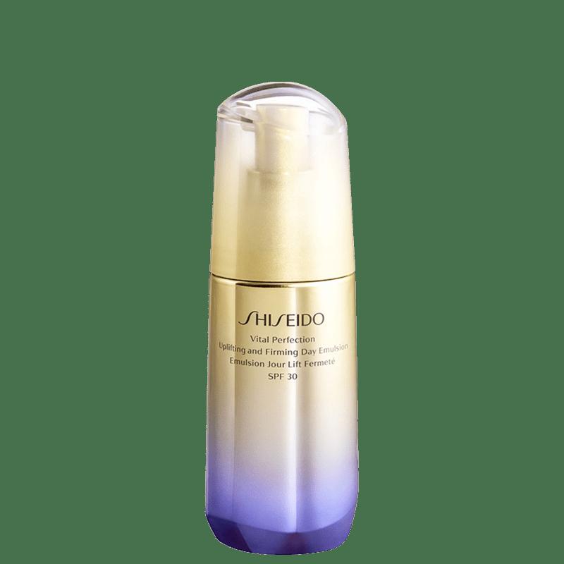Emulsão Anti-idade Hidratante Shiseido Vital Perfection Uplifting and Firming Day Emulsion FPS 30 75ml