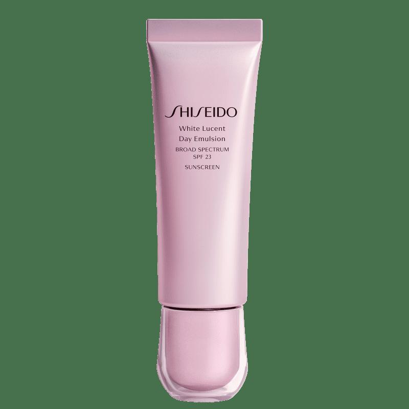 Emulsão Clareadora de Manchas Shiseido White Lucent Day FPS23 50ml