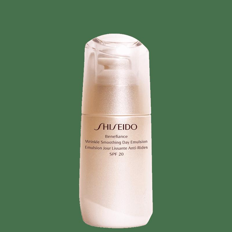 Emulsão Hidratante Facial Diurna Antirrugas Benefiance Wrinkle Smoothing Day Emulsion SPF20 75ml
