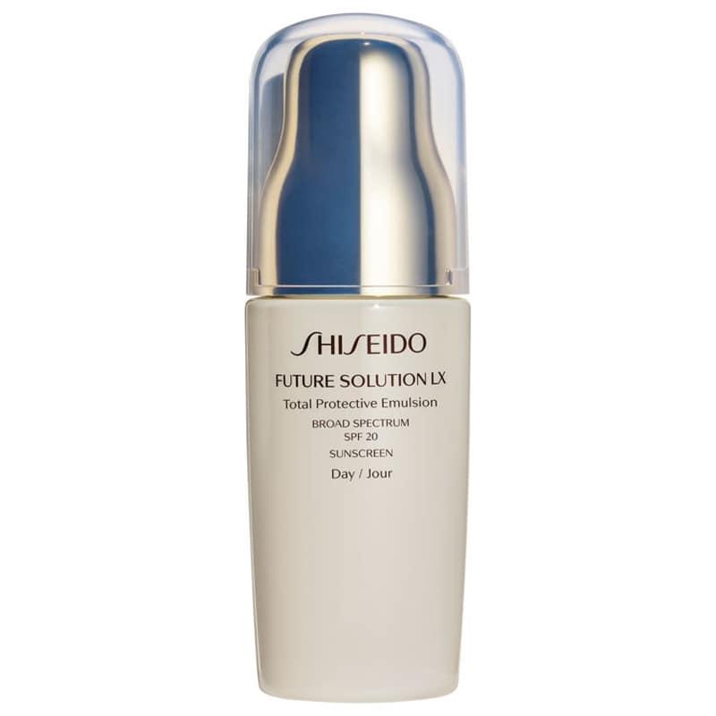 Emulsão Hidratante Facial Shiseido Future Solution LX Total Protective SPF20 75ml