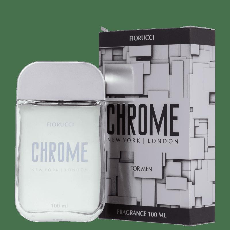 Fiorucci Chrome Eau de Cologne Masculino