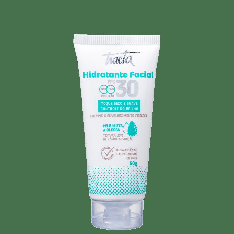 Hidratante Facial Tracta Pele Mista a Oleosa FPS30 50g